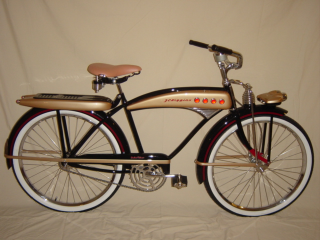 bicycle picture of the day 1952 j c higgins colorflow