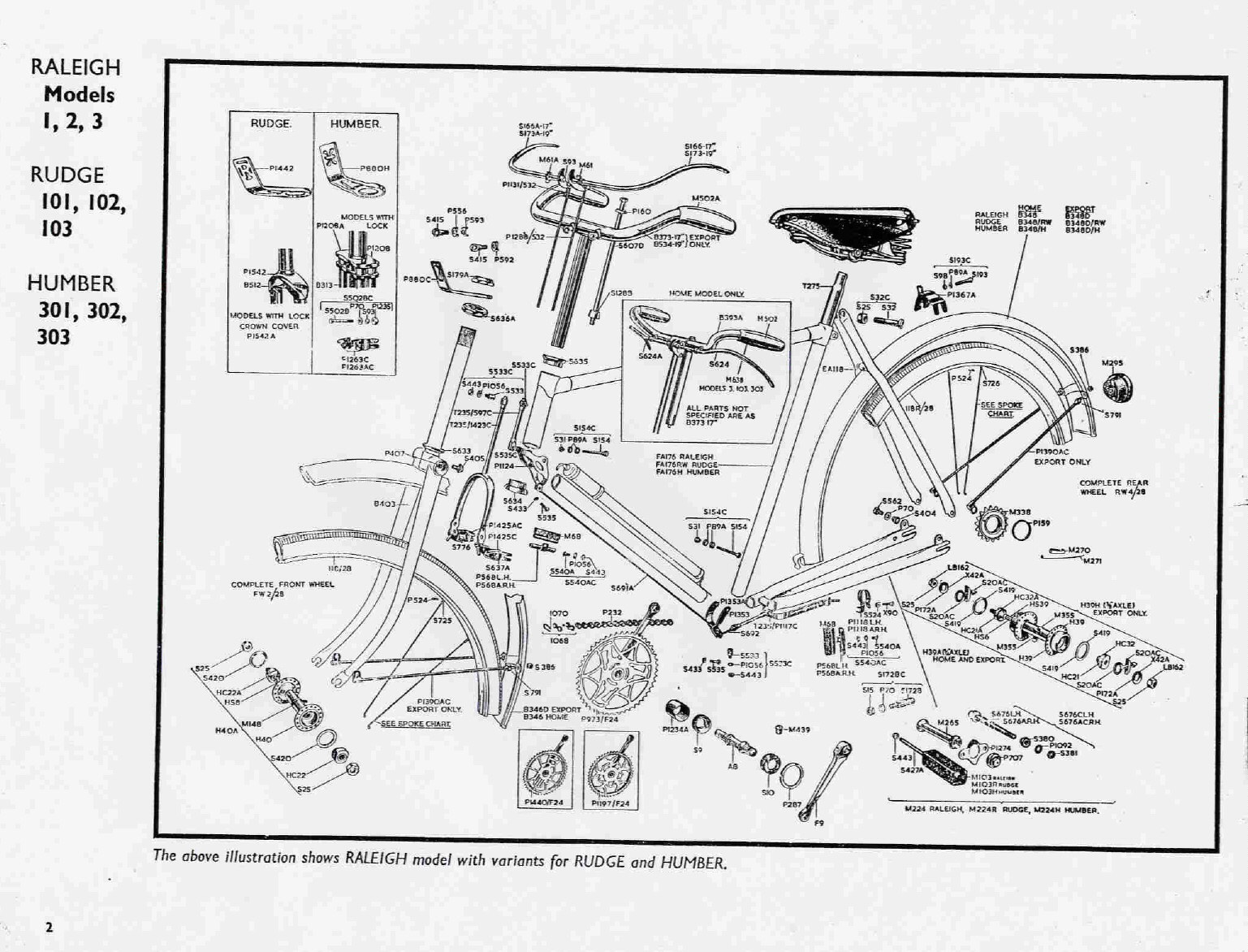 Bicycle Exploded Diagram