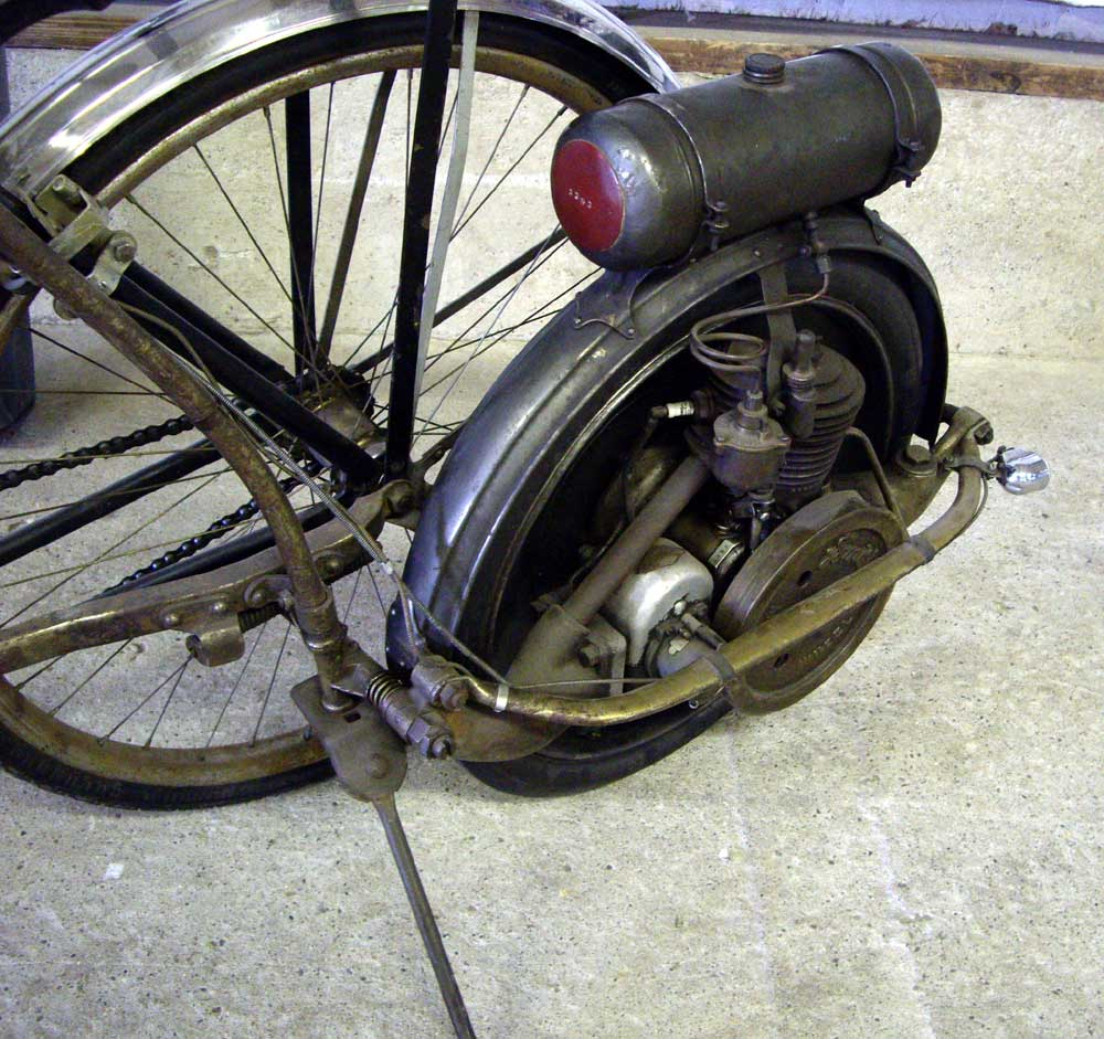 Smith Motor Wheel This Motor Was An 39 Outrigger 39 Add On